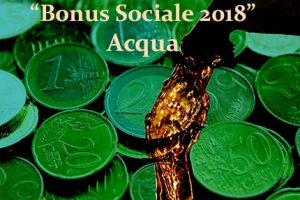 Acqua: dal 2018 nuovo Bonus Sociale Idrico per le famiglie disagiate