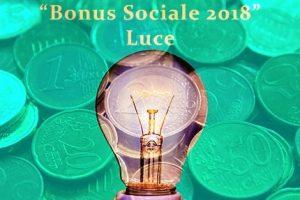 Luce: anche per il 2018 Bonus Sociale per le famiglie disagiate