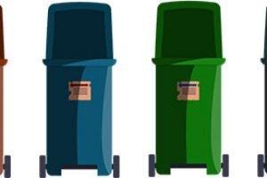 Come collocare i cassonetti per la raccolta dei rifiuti